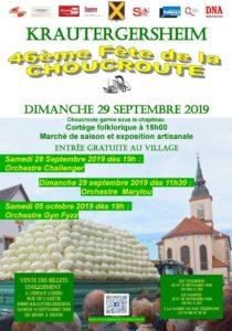 Fête de la Choucroute @ KRAUTERGERSHEIM sous chapiteau