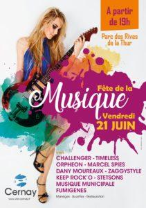 Fête de la Musique @ CERNAY - Parc des Rives de la Thur